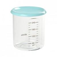 Recipient ermetic Beaba, 240 ml, material plastic Tritan, Bleu