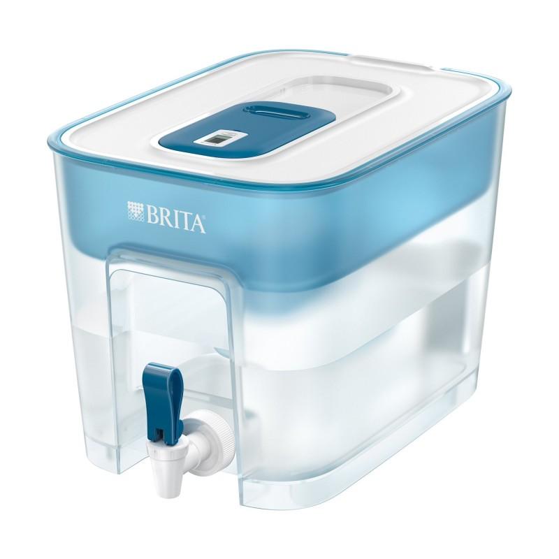 Recipient filtrant Brita Flow, 8.2 L, rasina ioni, carbune activ, Blue 2021 shopu.ro
