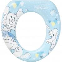 Reductor WC Mickey Tender Lulabi, captusit, albastru