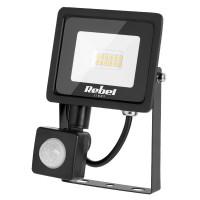 Reflector LED Rebel, 10 W, 3000 K, 850 lm, 12 x LED, senzor miscare, lumina alb calda