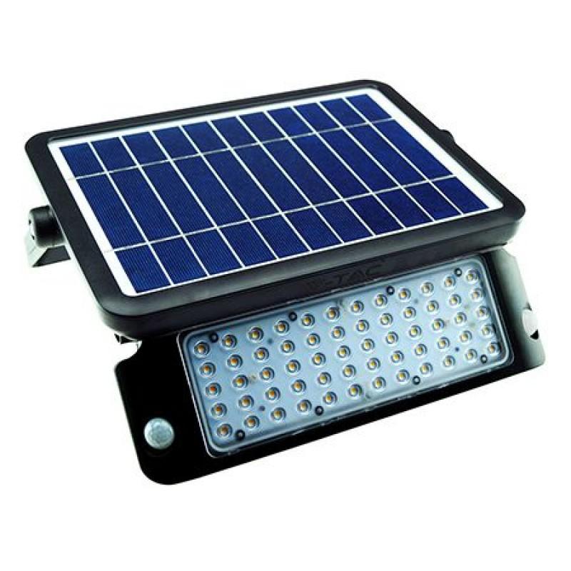Reflector LED V-Tac ,10 W, 4000 K, incarcare solara 2021 shopu.ro