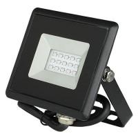Reflector LED, 10 W, IP65, aluminiu, lumina albastra, Negru