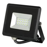 Reflector LED, 10 W, IP65, aluminiu, lumina verde, Negru