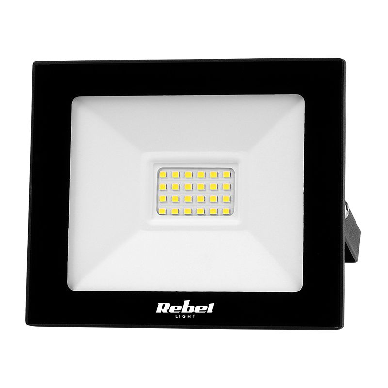 Reflector LED Rebel, 20 W, 24 x LED, 6500 K, 1600 lm 2021 shopu.ro
