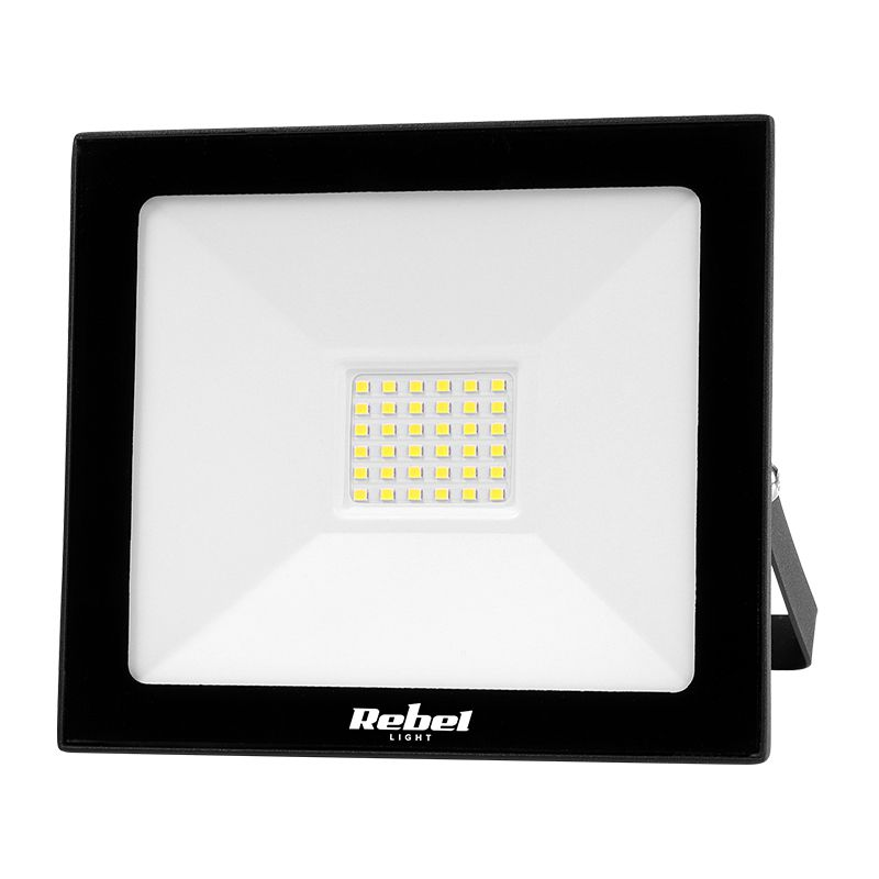 Reflector LED Rebel, 30 W, 36 x LED, 6500 K, 2400 lm 2021 shopu.ro