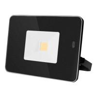 Reflector LED cu senzor si telecomanda, 20 W, 3000 K alb cald, 1700 lm, negru