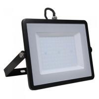 Refector LED SMD, putere 100 W, 8000 lm, 4000 K, alb neutru, cip Samsung, rama neagra