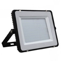 Reflector LED, 150 W, 12000 lm, 3000 K, alb cald, cip samsung, rama neagra