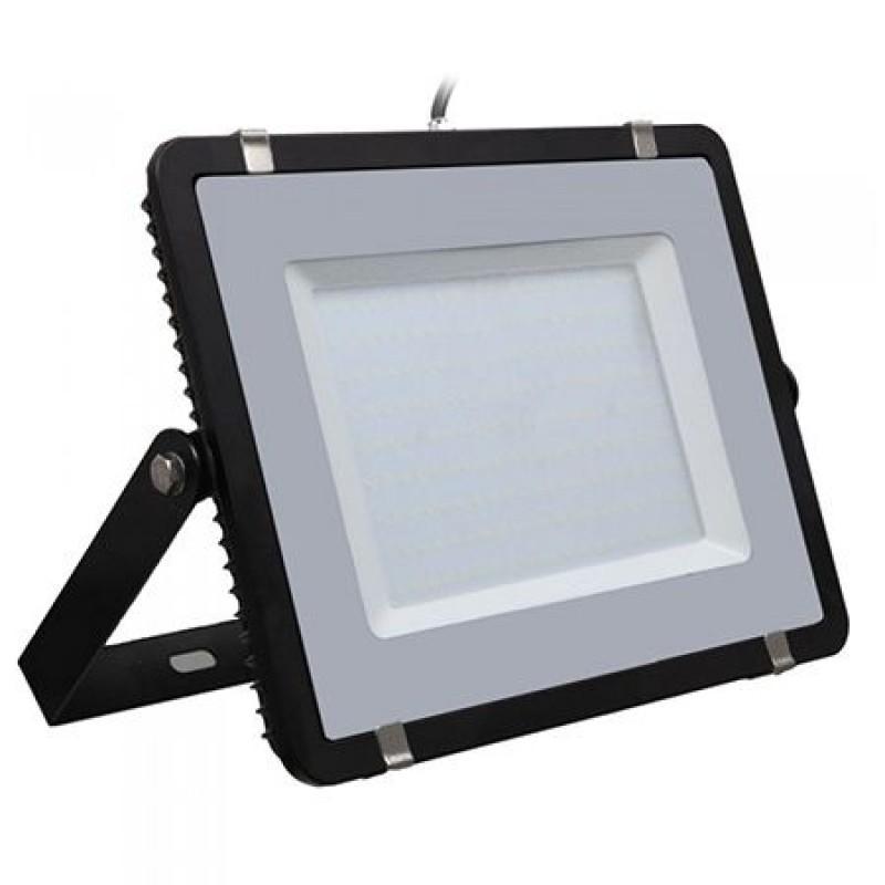 Reflector LED, 200 W,16000 lm, 4000 K, alb neutru, cip samsung, rama neagra shopu.ro