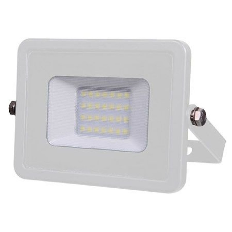 Proiector V-Tac cu LED SMD, cip Samsung, 20 W, 4000 K, lumina alb neutru