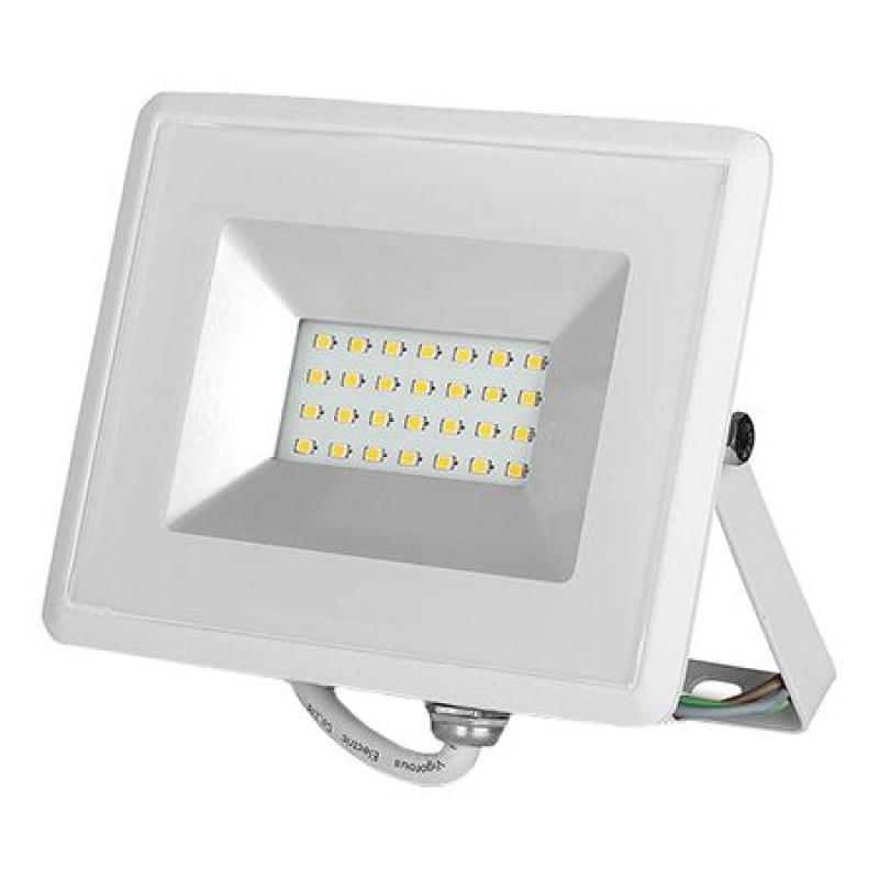 Reflector LED, 20 W, 1700 lm, 4000 K, lumina alb neutru, Alb shopu.ro