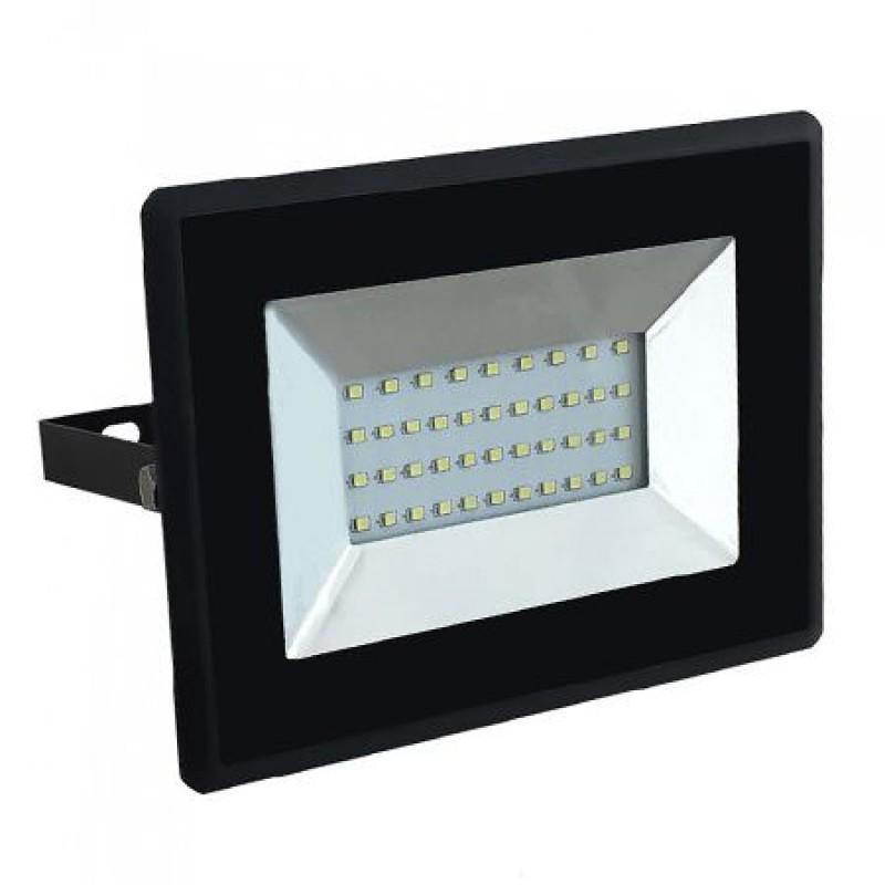 Reflector LED SMD, 30 W, 3000 K, 2550 lm, IP65, Negru shopu.ro