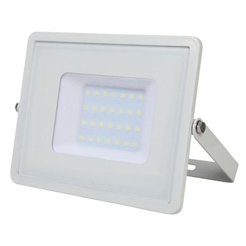 Proiector V-Tac cu LED, cip Samsung, 30 W, lumina alba rece 2021 shopu.ro