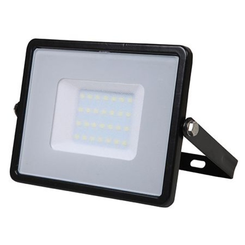 Proiector V-Tac cu LED, cip Samsung, 30 W, 6400 K, lumina alba rece shopu.ro