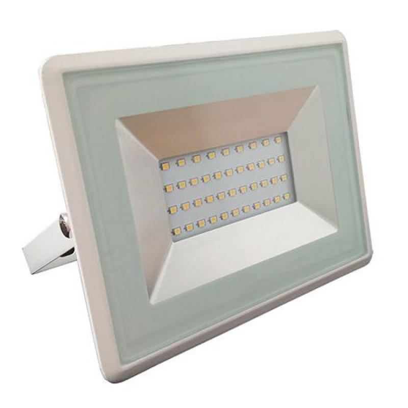 Proiector tip reflector LED SMD, 30 W, 6500 K, 2550 lm, IP65, Alb 2021 shopu.ro