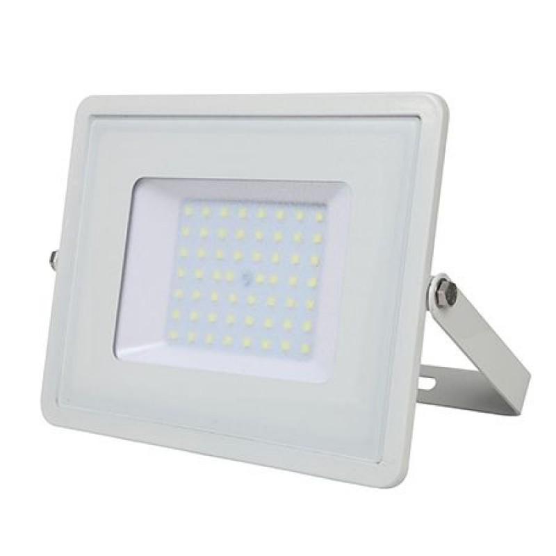 Proiector V-Tac cu LED SMD, cip Samsung, 50 W, lumina alba calda shopu.ro
