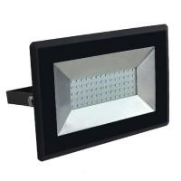 Proiector tip reflector LED SMD, 50 W, 6500 K, 4250 lm, IP65, Negru