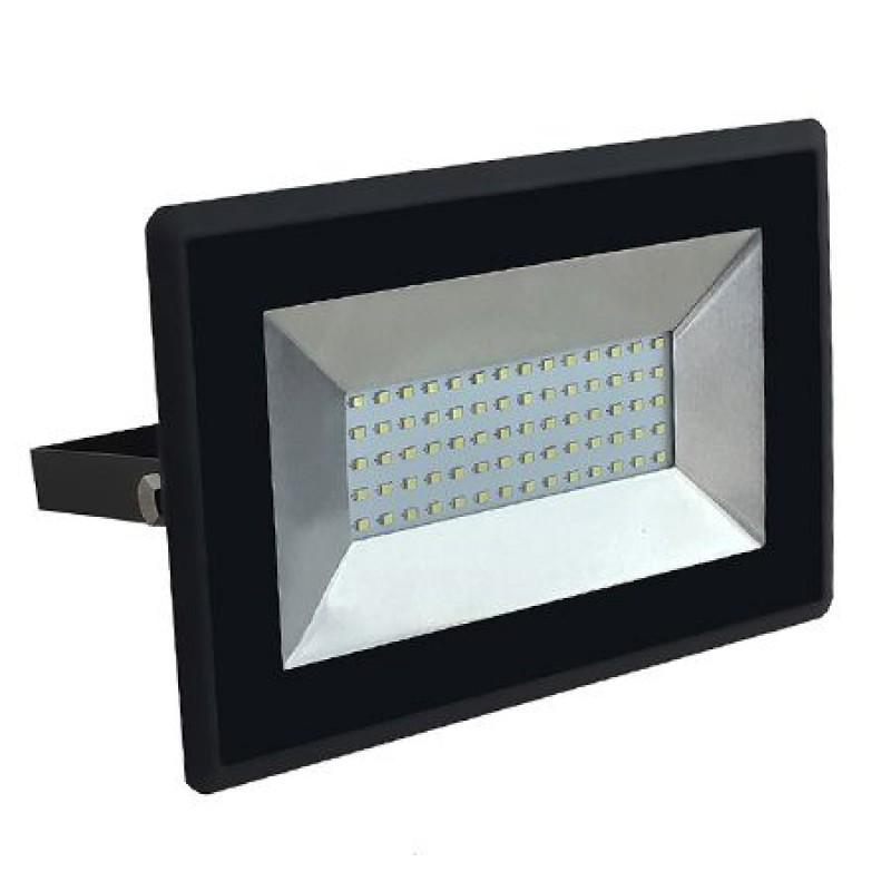 Proiector tip reflector LED SMD, 50 W, 6500 K, 4250 lm, IP65, Negru 2021 shopu.ro