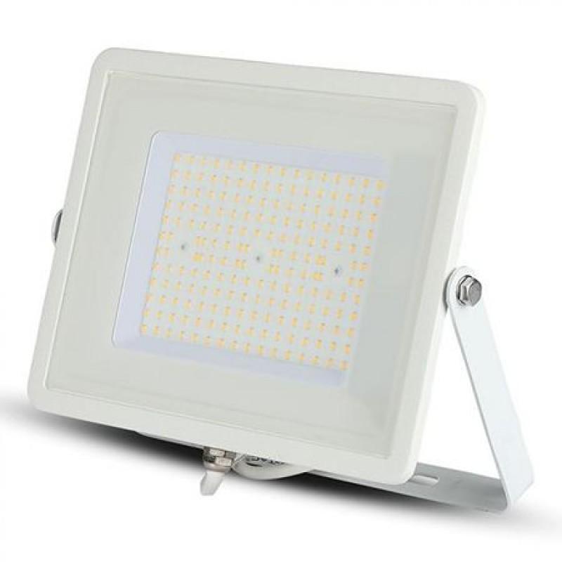 Reflector LED SMD Slim, 100 W, 12000 lm, 4000 K, Potectie IP65, Cip Samsung, Alb