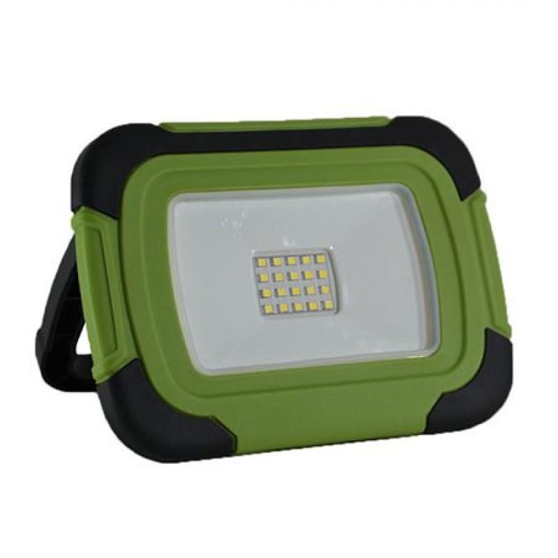 Reflector portabil LED V-Tac, 10 W, 4000 K, 700 lm, 3600 mAh, cip Samsung 2021 shopu.ro