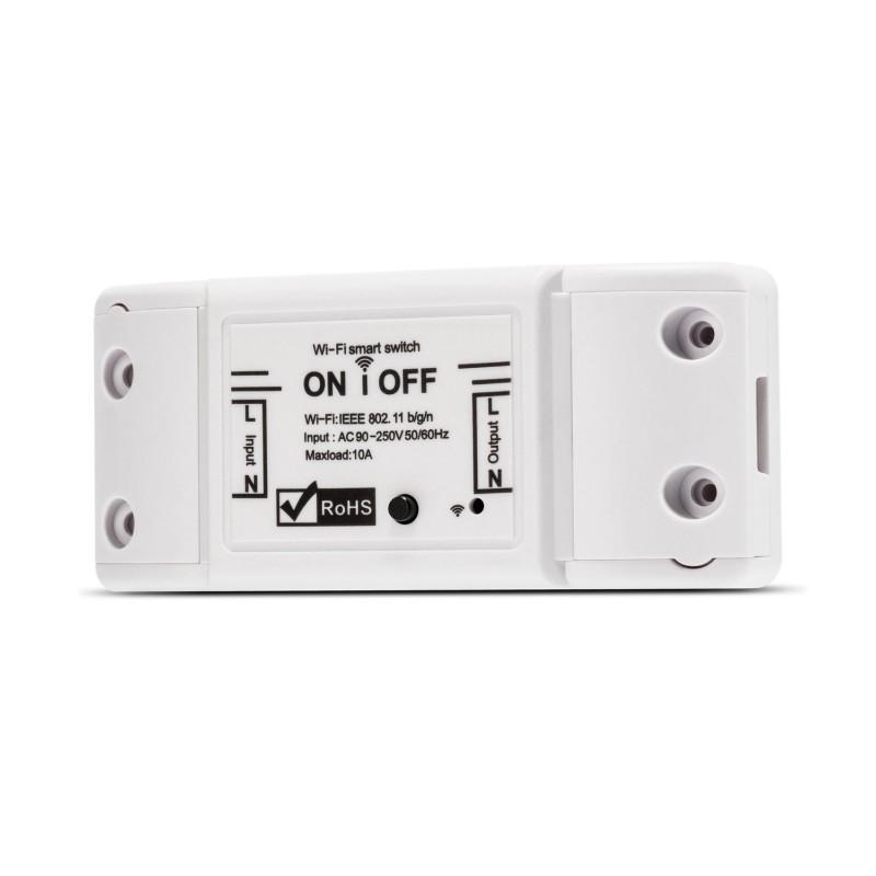 Releu wireless Nous L6, 2200 W, 10 A, 88 x 38 x 22 mm, aplicatie SmartHome, Alb 2021 shopu.ro