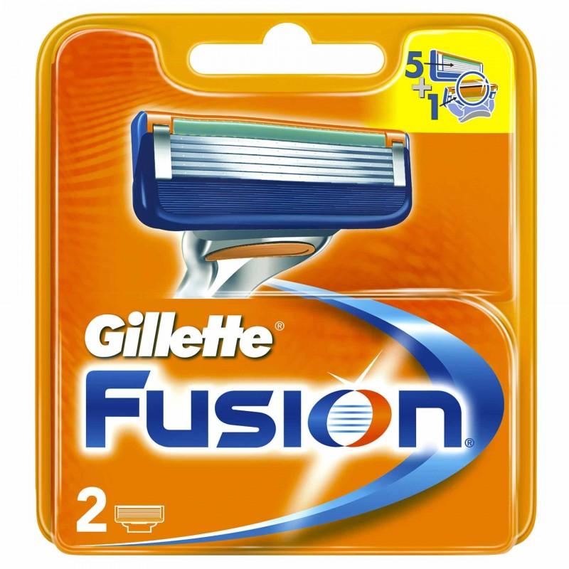 Set 2 rezerve pentru aparat de ras Gillette Fusion Manual 2 2021 shopu.ro