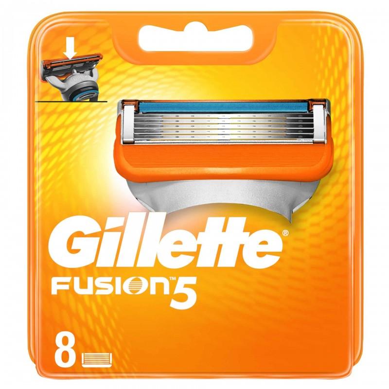 Set 8 rezerve pentru aparat de ras Gillette Fusion Manual 2021 shopu.ro