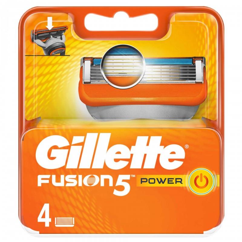 Set 4 rezerve pentru aparat de ras Gillette Fusion Power 2021 shopu.ro