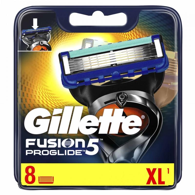 Set 8 rezerve pentru aparat de ras Gillette Fusion Proglide manual