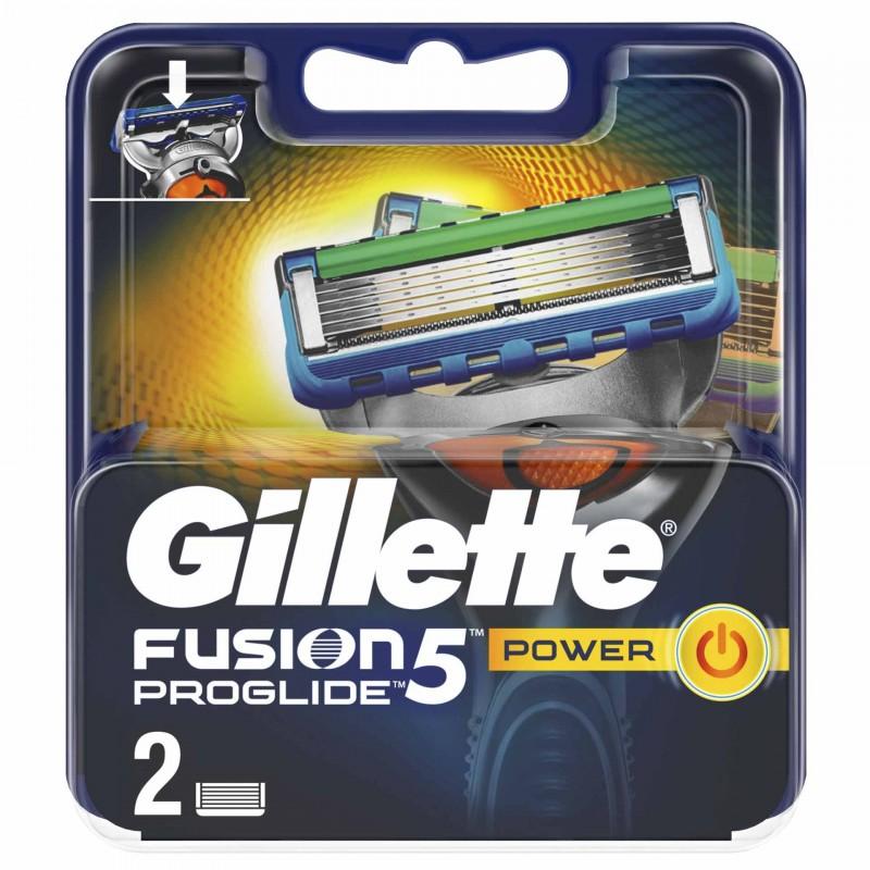 Set 2 rezerve pentru aparat de ras Gillette Fusion Proglide Power, 5 lame 2021 shopu.ro