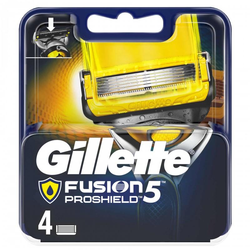 Set 4 rezerve pentru aparat de ras Gillette Fusion Proshield 2021 shopu.ro