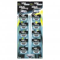Set rezerve pentru aparat de ras Gillette Mach3, 10 bucati