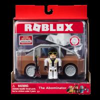 Set figurina si vehicul W4 Roblox, 6 ani+, Maro