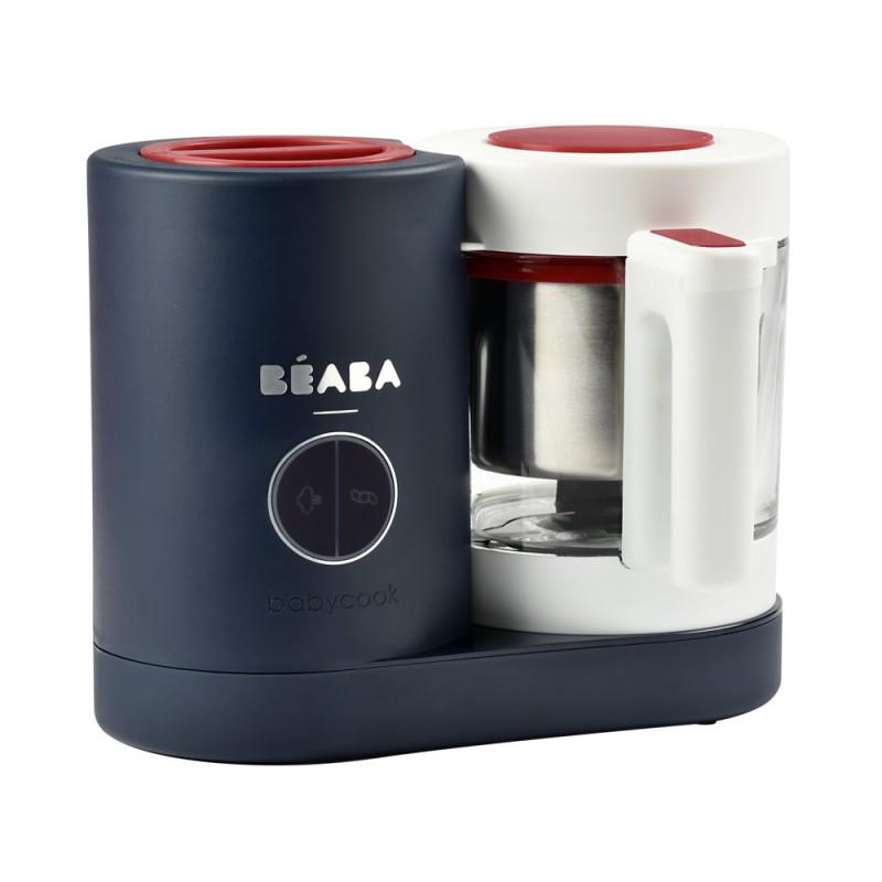 Robot Babycook Beaba Neo French Touch, capacitate 1250 ml, bleumarin