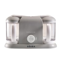 Robot Babycook Plus Beaba, vas 1100 l, gri