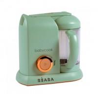 Robot Beaba Babycook Solo Matcha, gatire cu aburi, BPA free, volum 1100 ml