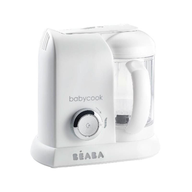 Robot Babycook Solo Beaba, vas 1100 ml, silver 2021 shopu.ro