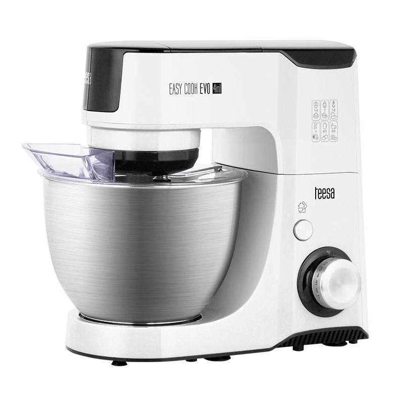 Robot de bucatarie multifunctional Easy Cook Evo, 7 viteze, 1000 W 2021 shopu.ro