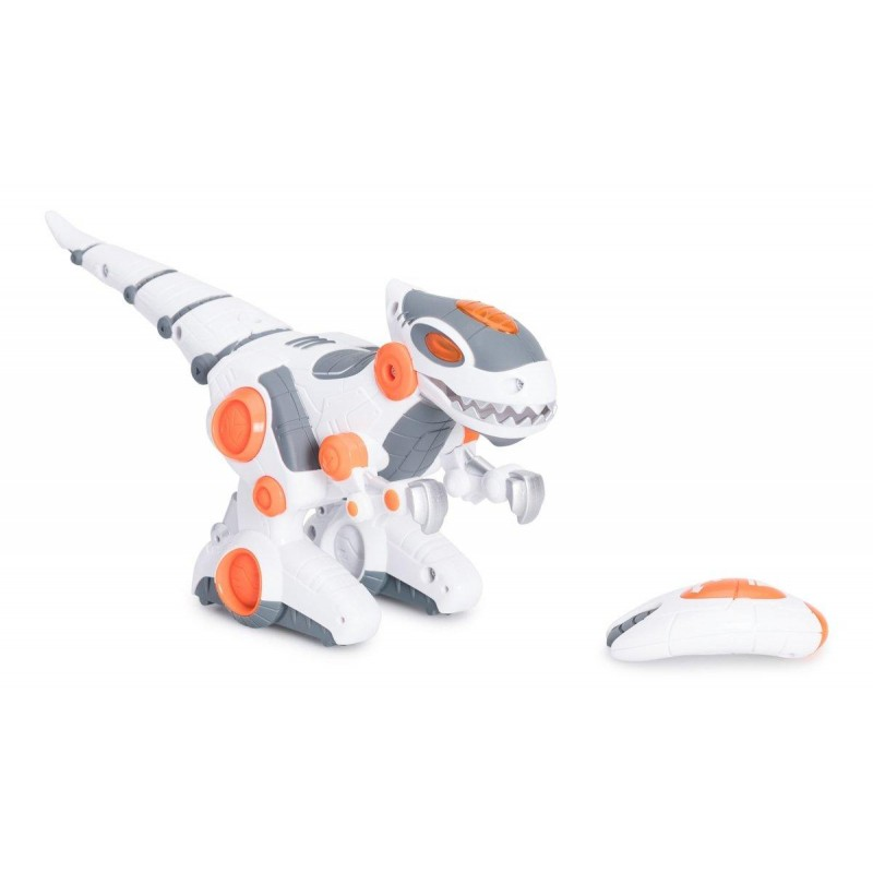 Robot dinozaur cu telecomanda Cybotronix, 26 cm, 3 ani+ 2021 shopu.ro