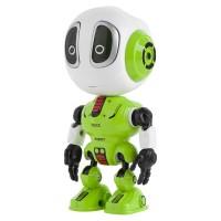 Robot de jucarie Rebel Voice, 3 x LR44, microfon incorporat, Verde