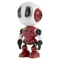 Robot de jucarie Rebel Voice, 3 x LR44, microfon incorporat, Rosu