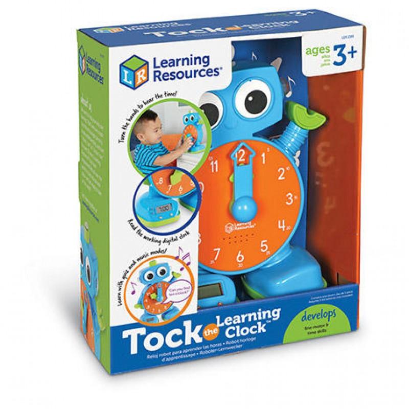 Robotel Tic-Tac Learning Resources, 23 cm, 3 ani+ 2021 shopu.ro