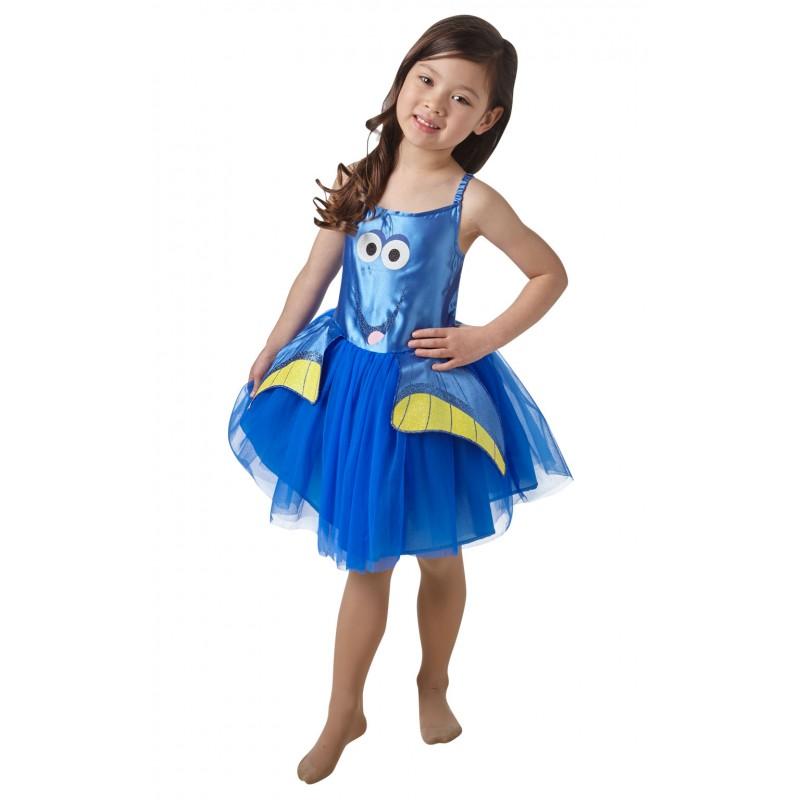 Rochita Tutu Dory, varsta 5-6 ani, marime M, Albastru 2021 shopu.ro