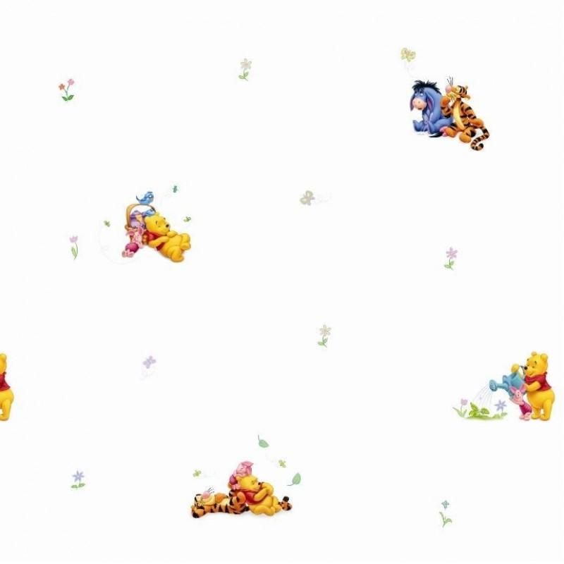 Rola tapet Winnie the Pooh Decofun TA00699, 10 x 0.52 m 2021 shopu.ro
