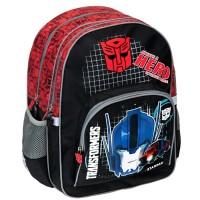 Rucsac Transformers Starpak, aplicatii reflectorizante, negru