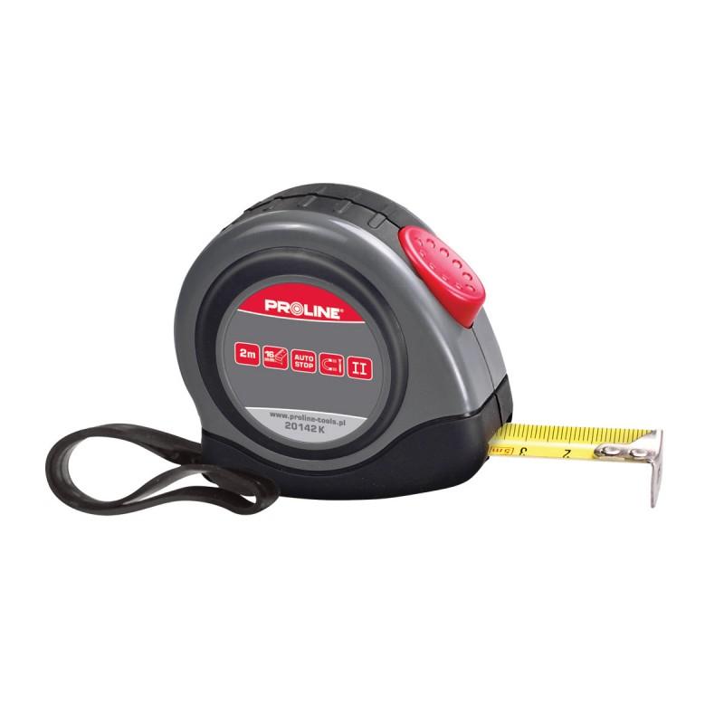 Ruleta autoblocanta Proline, 7.5 m x 25 mm 2021 shopu.ro