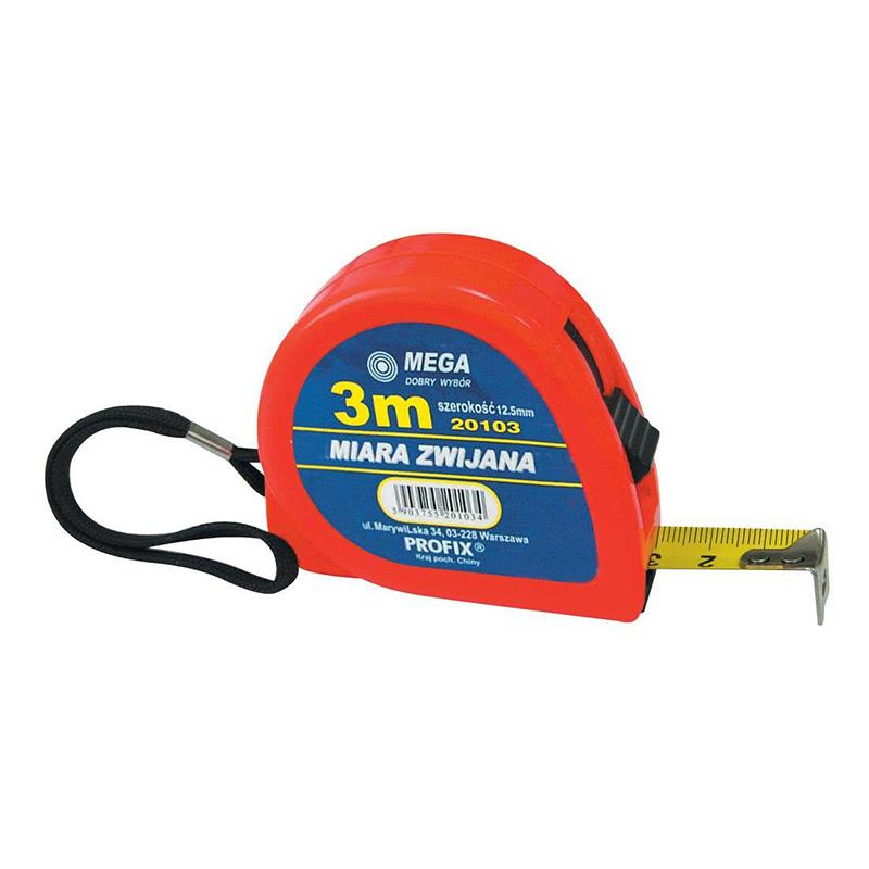 Ruleta plastic Mega, 5 m x 19 mm shopu.ro