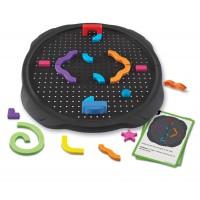 Joc educativ Sa construim labirintul Learning Resources, 4 mingiute, 10 carduri, 5- 9 ani