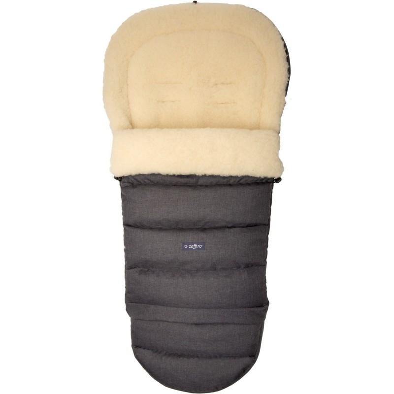 Sac de iarna iGrow Eco din lana oaie Womar Zaffiro 3Z-SW-20M, Gri inchis 2021 shopu.ro