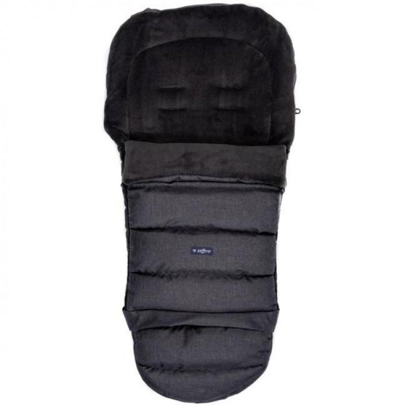 Sac iarna poliester iGrow Plus Womar Zaffiro, 84 x 45 cm, 0 luni+, negru